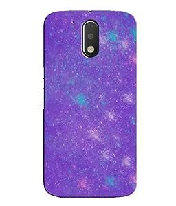 Citydreamz Colorful Lights Hard Polycarbonate Designer Back Case Cover For Motorola Moto G4 (4th Gen.)