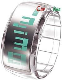 Pixel CursOnline Reloj de Pulsera Para Mujer O Niña Led Watch Pulsera ODM Nuevo Modelo Muy Brillantes Led