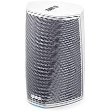 Denon HEOS - Altavoz (Wi-Fi, Bluetooth, USB, Spotify, Aux-In), color blanco