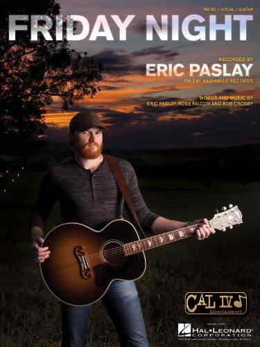 Eric Paslay–Friday Night–Sheet Music single
