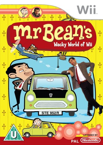 Mr Bean's Wacky World Of Wii (wii)