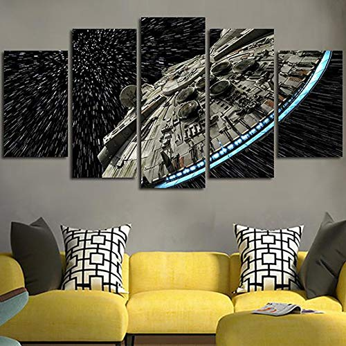 XLST Decoración Pared Imagen Lienzo Star Wars Batman
