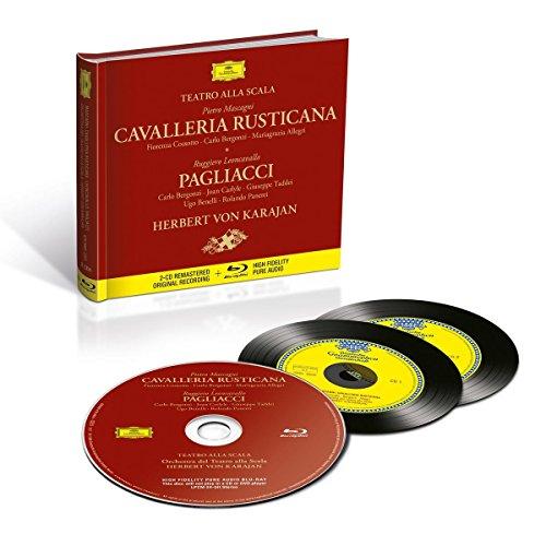 Cavalleria Rusticana & Pagliacci (2CD Remastered Original Recording & Blu-ray High Fidelity Pure Audio) -
