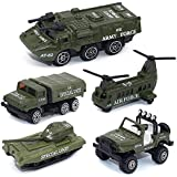 High Quality Super Toy Metal Die Cast Metal Toy For Kids Playset Of 5 Military Tank & Truck Model Toys For Kids 4 In 1 Set OF Military Jeep Toys Metal Playset Tank Toys For Children Free Wheels Toys Armoured Metal Toys For Kids Hot Pursuit Toy For Kid
