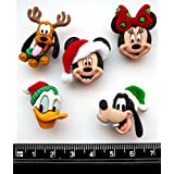Disney–Los jefes de Navidad diseño de Craft botones y adornos por Dress It Up
