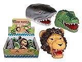 Set 2x Handpuppe Dino Krokodil Hai Löwe Puppe Fingerpuppe Kinder Spielzeug