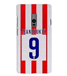 PRINTVISA Football Mandzukic Case Cover for OnePlus 2