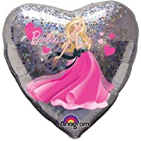 Amscan Internazionale Barbie Love Hearts Foil Palloncino