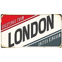 Alfombra Pasillera Viaje Cocina Londres Inglaterra impreso 99x55 cm