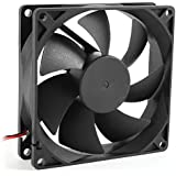 Quiet 8cm/80mm/80x80x25mm 12V Computer/PC/CPU Silent Cooling Case Fan