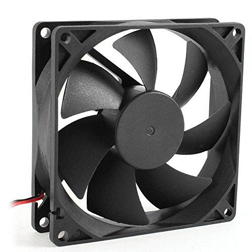 Theshy Standventilator Ventilator Windmaschine Retro Stil Tischventilator Bodenventilator Ruhig 8 cm / 80 mm / 80 x 80 x 25 mm 12 V Lüfter für Computer/PC/CPU-Lüfter -