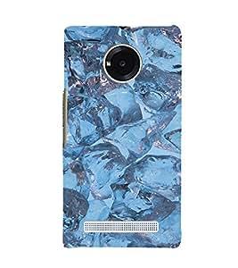 EPICCASE Ice cubes Mobile Back Case Cover For YU Yuphoria (Designer Case)