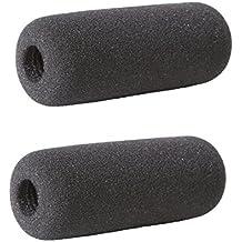 Pantalla Antiviento de Espuma Movo F10 para Micrófonos de Cañón de hasta 10 cm incluyendo el Sennheiser MKE 400 (2 UNIDADES)
