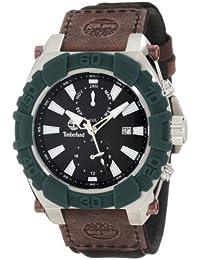 amazon co uk timberland watches timberland men s hookset multifunction 13331jsgn 02 black calf skin quartz watch black dial