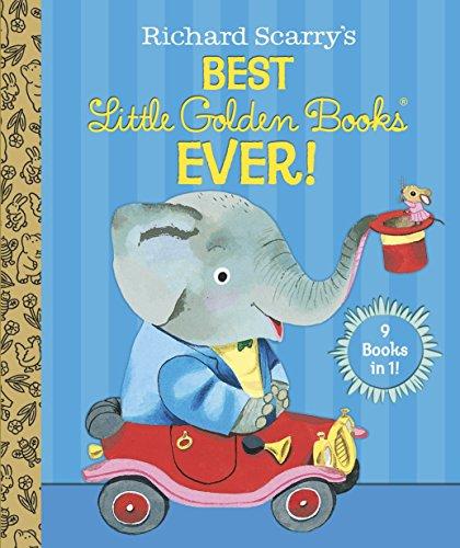 Richard Scarry's Best Little Golden Books Ever! (Little Golden Book Favorites)