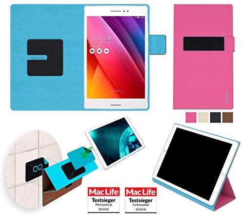 reboon Hülle für Asus ZenPad S 8.0 Tasche Cover Case Bumper | in Pink | Testsieger