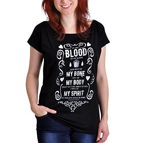 emp outlander Outlander Blood of My Blood Girl-Shirt schwarz XL