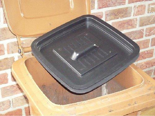 Biotonnendeckel Madenlos für 120 Liter Tonne der Form 1