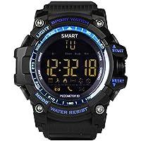 LU2000 al aire libre impermeable Bluetooth reloj inteligente, con cámara mando a distancia/contador