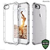 #1: Zaap Defender Shock-Absorbing protective Transparent case /cover+ TPU for iphone7, Transparent