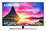 Samsung 55NU8005 - Smart TV de 55' 4K UHD HDR (Pantalla Slim, Quad-Core, 4 HDMI, 2 USB), Color Plata (Eclipse Silver)