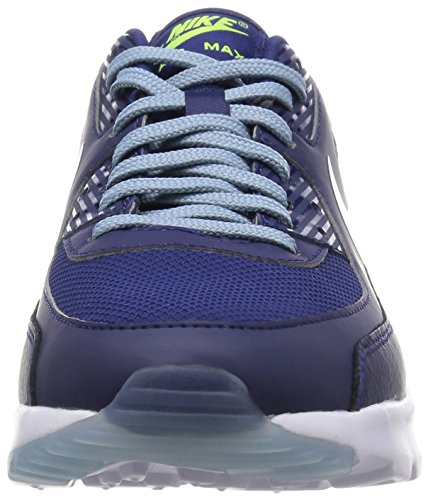 Nike W Air Max 90 Ultra Essential, Chaussures de Sport Mixte Adulte, Bleu Bleu Marine