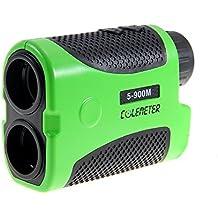 COLEMETER® Telescopio 6X Telemetro Rangefinder Laser Misuratore Distanza Angolo Multifunzioni 5-900MT Batteria in Omagio per Golf Caccia Sport - Golf Distanza Finder