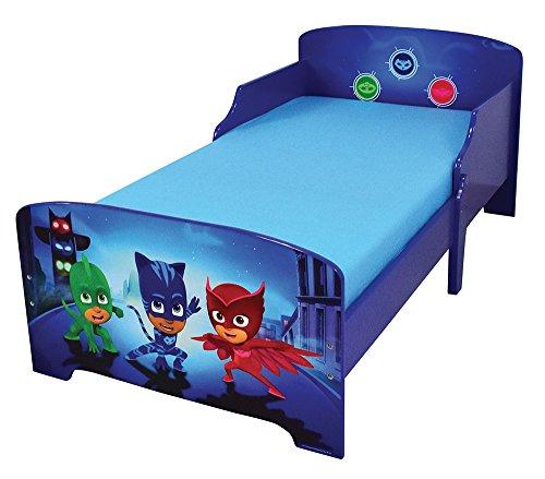 Prix FUN HOUSE 712868 Pyjamasques Lit pour Enfant 140X70 cm avec Lattes