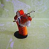 Lily&her friends Kreativer Brillenhalter aus Holz, handgeschnitzt, zum Basteln,, Einzigartige Tier-Form, aus Holz, Brillenhalter, Präsentationsständer für Zuhause, Büro, Schreibtisch Tiger