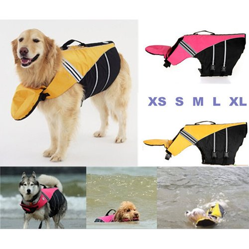 XMY Colour Pink Small Dog Life Vest Swimming Safety Jacket Nylon by Doggles Sierra Dog Supply XS NEW