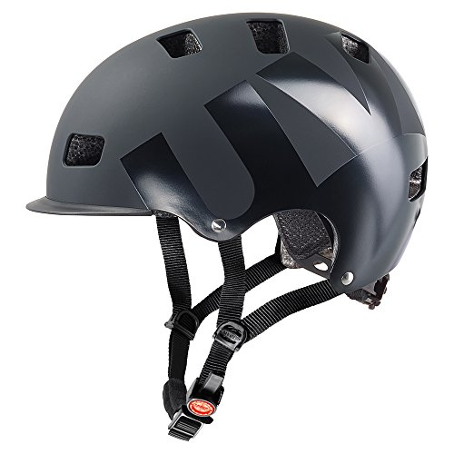 Uvex Fahrradhelm Hlmt 5 Bike Pro, Black Mat, 58-61, 4103030719