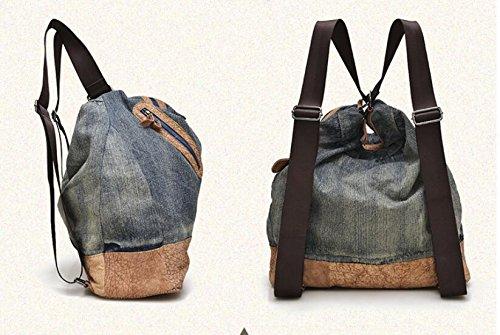 Mode retro Tasche Schulter Handtasche Blue