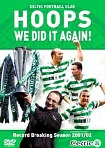 Celtic - Hoops We Did It Again [2002] [DVD]