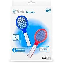 Wii - Raqueta de tenis Twin Pack [Nintendo Wii] - surtido: modelos y colores  aleatorios