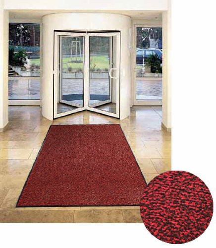 etm Dirt Trapper Mat - Sky - 12 Sizes Available - Red/Mottled - 200x200cm