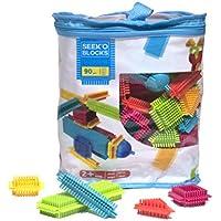 Seek'o Blocks Jeu de construction 1er âge Multicolore