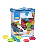 Seek'o Blocks - Jeu de Construction 1er âge - Seek'o Blocks Multicolore - Sac 90 Pièces - BA1002