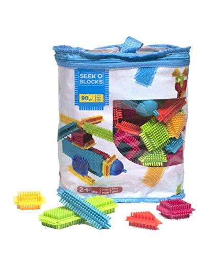 Seek'O Blocks - Juegos de construcción, 90 piezas (BA1002)