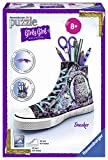 Ravensburger 12085 3D-Puzzle Girly Girl Edition Sneaker, Animal Trend, 108-teilig