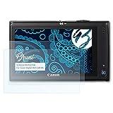 Bruni Schutzfolie für Canon Digital IXUS 240 HS/PowerShot ELPH 320 Folie - 2 x glasklare Displayschutzfolie
