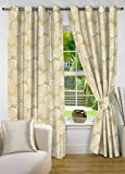 fflaunt Beige Abstract Poly Cotton Eyele...