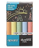 #9: Apsara Colored Chalks (Pack of 70 chalks)
