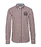 Camp David Hemd mit Button-down-Kragen Classic red XXL
