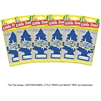 Little Trees MTZ02 Air Fresheners New Car Scent, 6 Pieces - ukpricecomparsion.eu