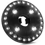 Lampe Sans Fil pour Parasol, AMIR 28 LEDs Lampes pour Parasol, 4xAA actionnée par batterie, Extérieure/Intérieure, 3 Modes Luminosite pour Terrasse, Jardin, Grand Parapluie
