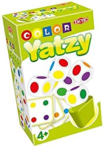 Tactic Color Yatzy Family Game