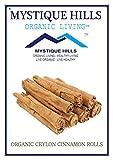 MYSTIQUE HILLS - Organic Sri Lankan Cinnamon Rolls (PREMIUM QUALITY) (100 GR)