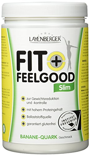 Layenberger Fit+Feelgood Slim Mahlzeitersatz Banane-Quark, 3er Pack (3 x 430g)