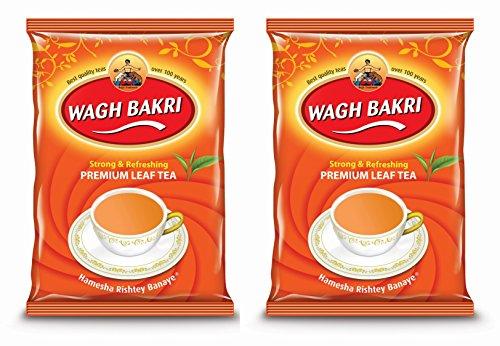 Wagh Bakri Leaf Tea Pouch (500g) - Pack of 2