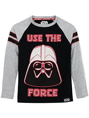 Star Wars Jungen Darth Vader Langarmshirt 158